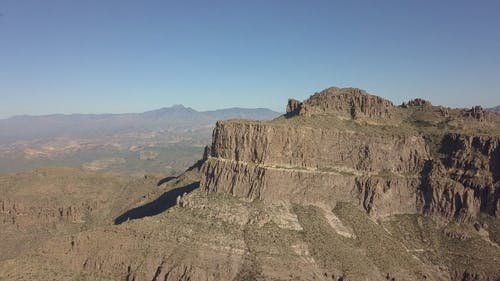 The Superstition Mountains In Arizona