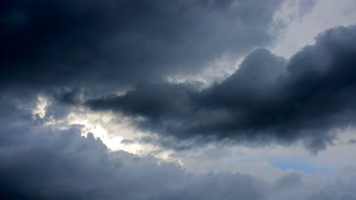 Dark Clouds Covering The Sky