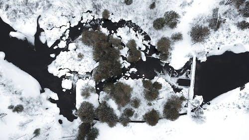 冰岛的航拍画面