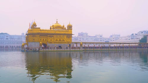 The Golden Sikh Temple In India