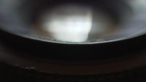 Close-up View Of A Camera Lens