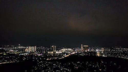 City Lights Footage At Night