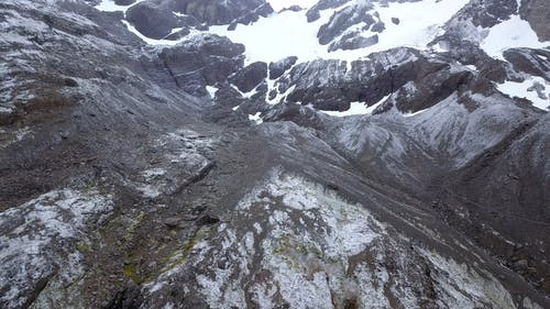 Drone Footage Of Landscape Of The Mountains