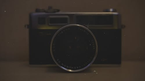 Footage Of A Old Camera