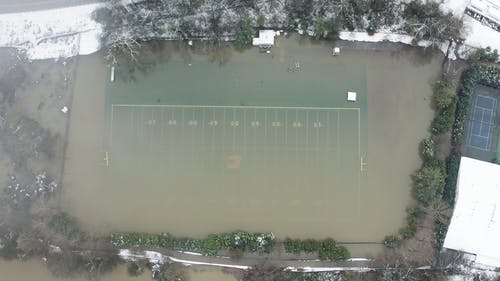 Super Top View Of A Football Field