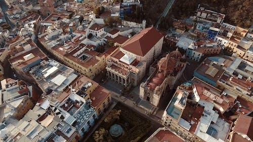 Drone Footage Of Landmarks In Guanajuato Mexico
