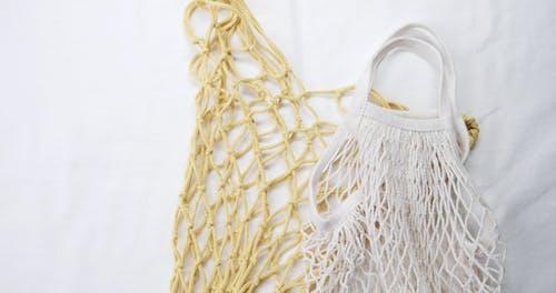 Przyjazny Dla środowiska Kosz Wykonany Z Tkaniny Wielokrotnego Użytku I Nadającej Się Do Prania