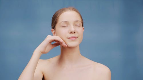 Woman with Beautiful Skin