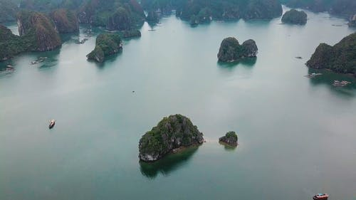 Aerial Footage Of The Islands