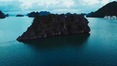 Drone Footage Of Boats In The Sea