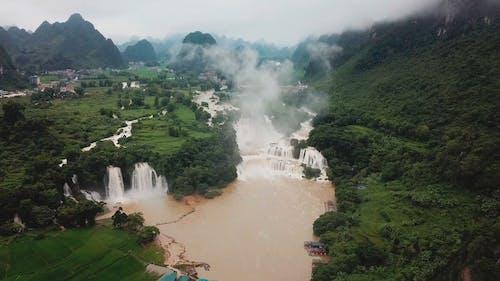 Beautiful River Waterfalls