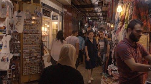 Turist Kudüs'te Bir Bit Pazarını Ziyaret Etti