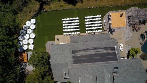 Drone Shot of a Wedding Venue