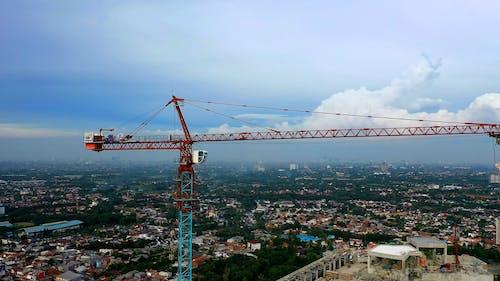 Full Shot of a Tower Crane