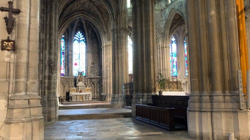 The Architecture And Interior Designs Of A Cathedral