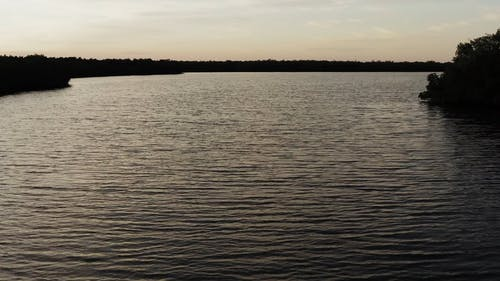 Drone Footage Of The Lake