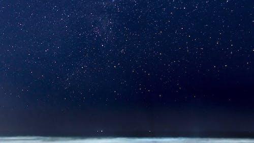 Time Lapse Of Night Sky