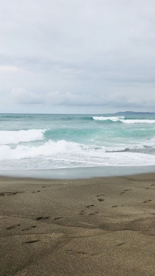 Wave Footage Of The Ocean