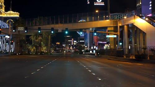 Streets of Las Vegas at Night