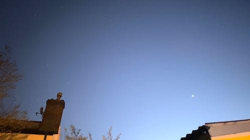 Timelapse Shot of Night Sky