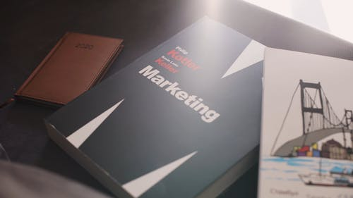 Book In Marketing On The Table