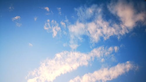 Time-Lapse Video of the Clouds in the Sky