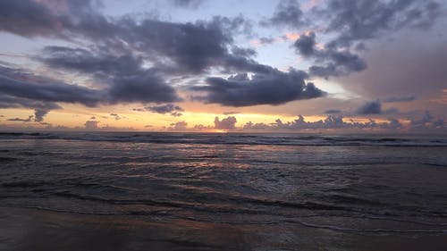 Sea Waves Kissing The Seashore