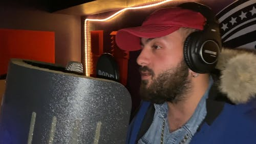 Recording A Song In A Music Studio