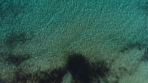 Drone Footage Of The Smooth Waves Of The Sea