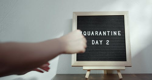 Counting The Days In Home Quarantine