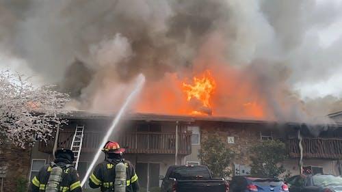 A Burning Apartment