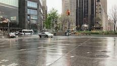 The Columbus Circle In Manhattan New York
