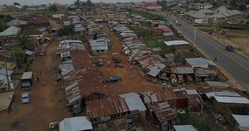 Drone Footage Of Poor Community