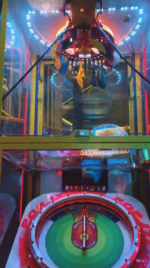 A Pop A Balloon Game Machine In An Amusement Center