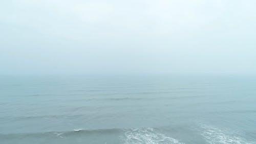 Drone Shot of a Beautiful Ocean