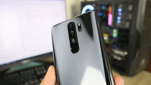 Close-Up Shot of a Mobile Phone