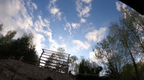 Time-Lapse Video of White Clouds and Blue Sky