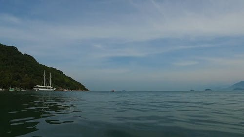 Boat Ride in the Open Sea
