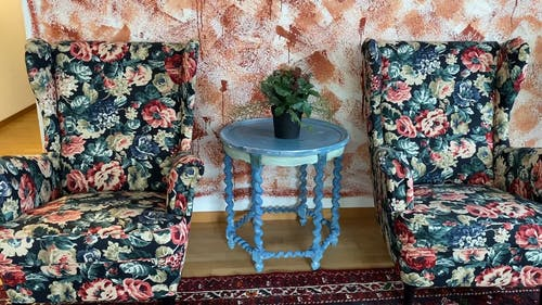 A Panning Shot Inside the Living Room