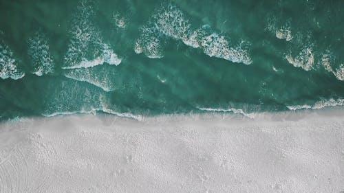 Aerial Footage Of Beach