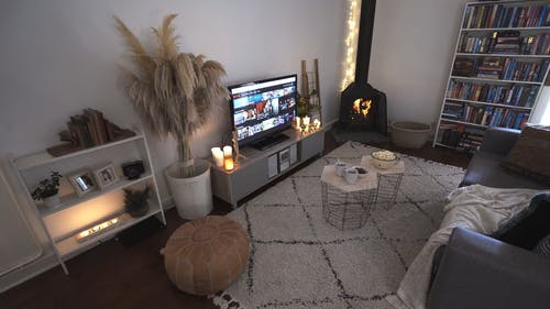 Video Footage Of A Living Room