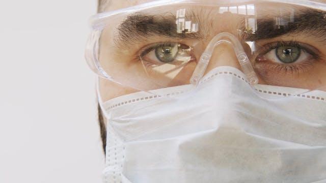 Man Doctor Medical Mask