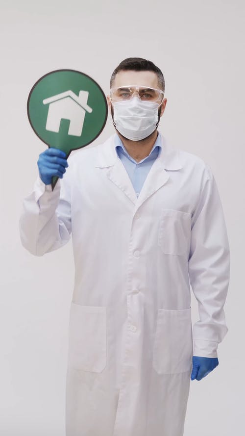 Man Wearing Personal Protective Equipments