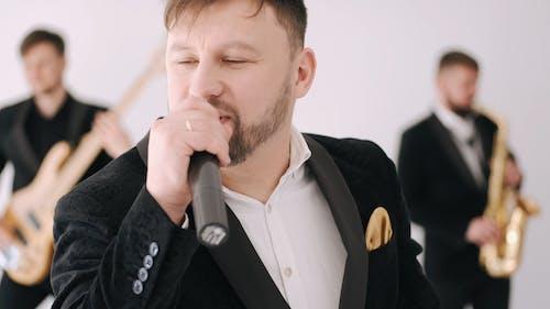 Video Of Man Singing