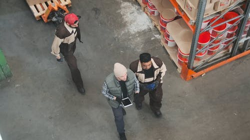 Men Working At A Hardware Store