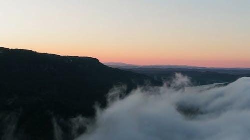 Drone Shot of the Mountain Peak