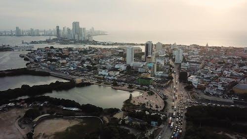 Aerial Footage Of Buildings
