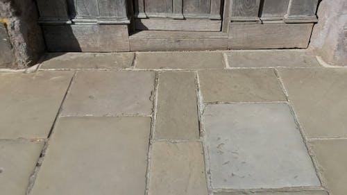 A Shot of an Ancient Doorway
