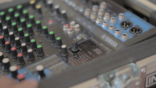 A Sound Mixing Equipment Used By Disc Jockeys