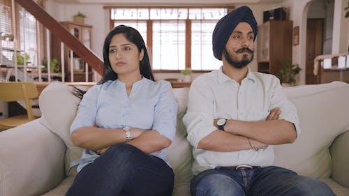 A Silent Couple Having A Misunderstanding